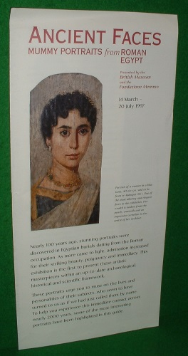 Image for ANCIENT FACES Mummy Portraits from Roman Egypt [ One Sheet Catalogue ]