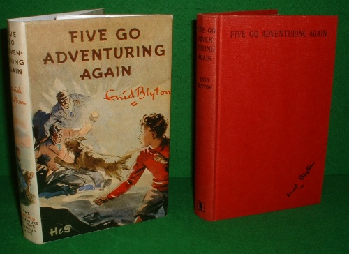 Image for FIVE GO ADVENTURING AGAIN An Adventure Story for Boys and Girls