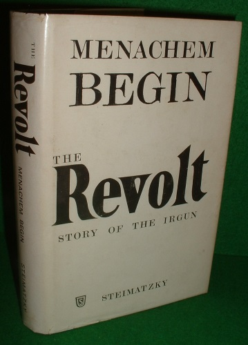 Image for THE REVOLT ( Story of the Irgun )