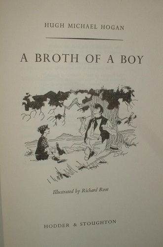 Image for A BROTH OF A BOY Eleven Irish Short Stories [ Humourous Ancedotes ]