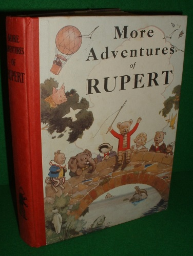 Image for MORE ADVENTURES OF RUPERT