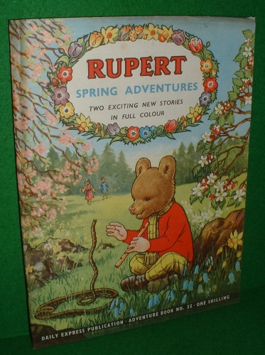 Image for RUPERT ADVENTURE SERIES NO 32 RUPERT SPRING ADVENTURES
