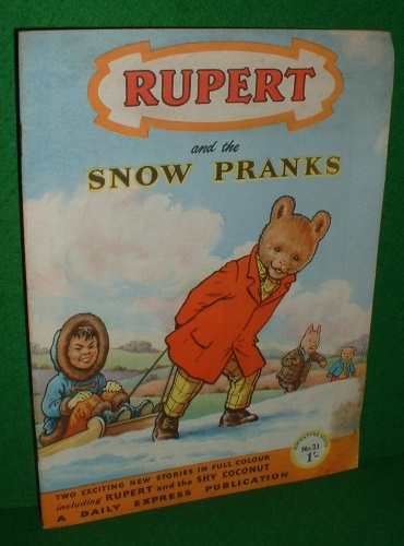 Image for RUPERT ADVENTURE SERIES NO 31 RUPERT SNOW PRANKS