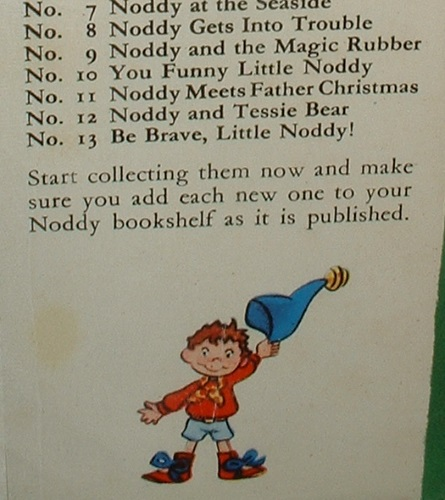 Image for BE BRAVE LITTLE NODDY