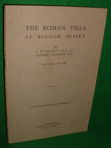 Image for THE ROMAN VILLA AT BIGNOR SUSSEX With a Plan of the Villa New Edition