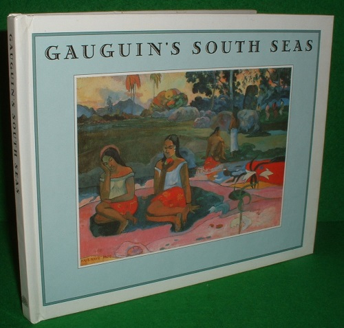 Image for GAUGUIN'S SOUTH SEAS Paintings with Background Text