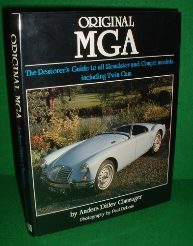 Image for ORIGINAL MG A THE RESTORER'S GUIDE TO ALL ROADSTER AND COUPE MODELS INCLUDING TWIN CAM.