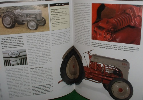 Image for FARM TRACTORS From 1890 to the Present Day