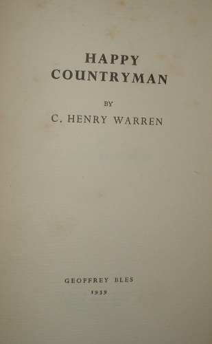 Image for HAPPY COUNTRYMAN