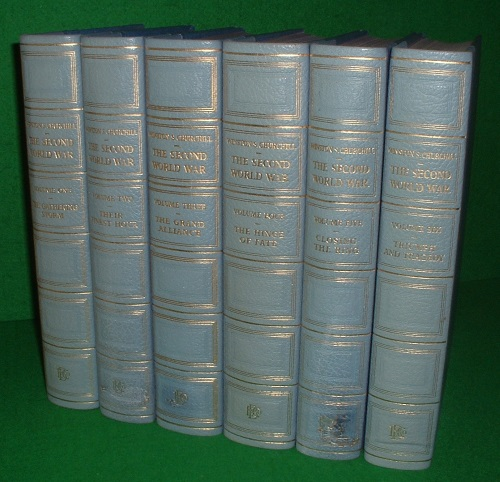 Image for THE SECOND WORLD WAR, CHARTWELL-  DE LUXE EDITION (COMPLETE SET 6 Vols.]