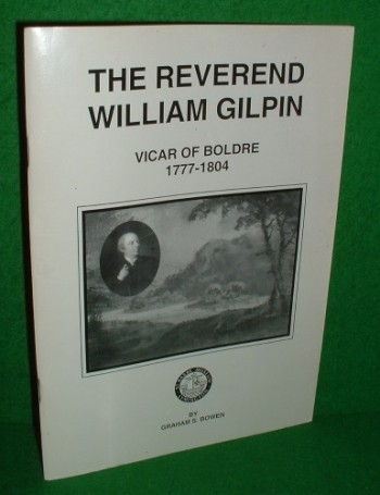 Image for THE REVEREND WILLIAM GILPIN VICAR OF BOLDRE 1777-1804 [ Hampshire ]