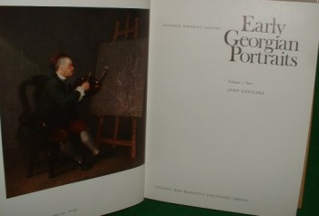 Image for EARLY GEORGIAN PORTRAITS NATIONAL PORTRAIT GALLERY Two Vol Set Complete