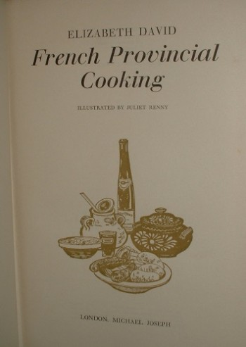 french provincial cookery