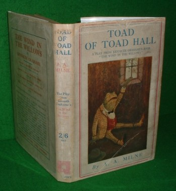 "Image for TOAD OF TOAD HALL A PLAY FROM KENNETH GRAHAME'S BOOK ""THE WIND IN THE WILLOWS"""