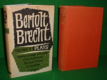 Image for BERTOLT BRECHT PLAYS VOLUME II