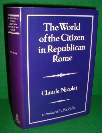 Image for THE WORLD OF THE CITIZEN IN REPUBLICAN ROME