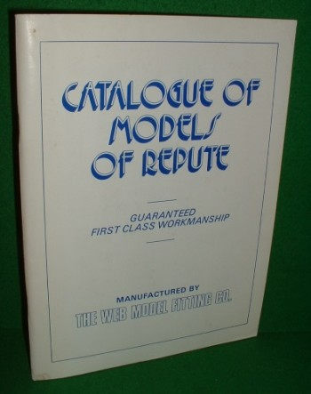 Image for WEB MODEL FITTING CATALOGUE OF MODELS OF REPUTE