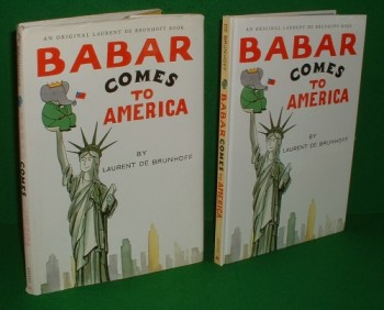 Image for BABAR Comes To AMERICA an Original Laurent de Brunhoff Book