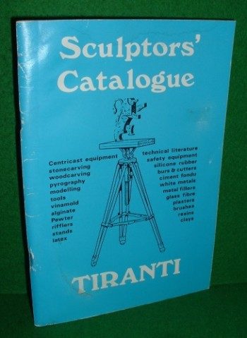 Image for SCULPTORS CATALOGUE [ ALEC TIRANTI LIMITED  ] 1987 [ TOOLS ETC ]
