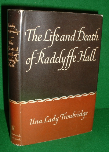 Image for THE LIFE AND DEATH OF RADCLYFFE HALL  Biography