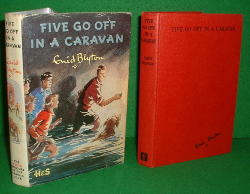 Image for FIVE GO OFF IN A CARAVAN  Being the Fifth Adventure of Julian, Dick, George, Anne and Timmy the Dog