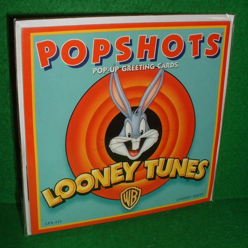 Image for POPSHOTS POP-UP GREETING CARD , Looney Tunes , Looney Party