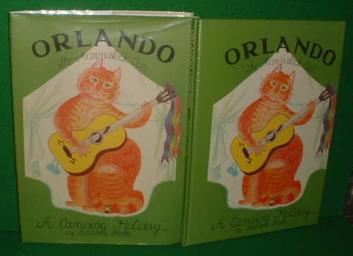Image for ORLANDO THE MARMALADE CAT A Camping Holiday Revised Edition