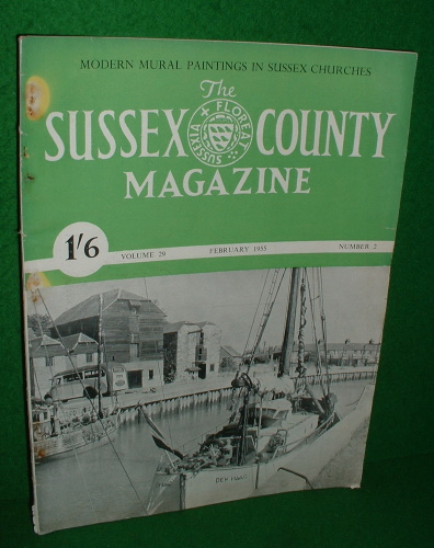 Image for THE SUSSEX COUNTY MAGAZINE Vol 29 No 2 Feb 1955