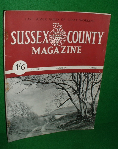 Image for THE SUSSEX COUNTY MAGAZINE Vol 29 No 3 March 1955