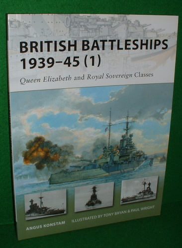 Image for BRITISH BATTLESHIPS 1939-45 (1) Queen Elizabeth and Royal Sovereign Classes , Osprey New Vanguard Series