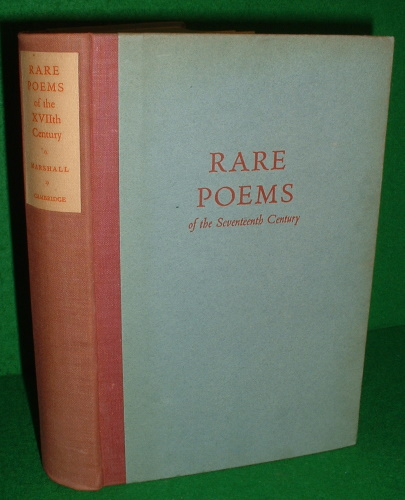 Image for RARE POEMS OF THE SEVENTEENTH CENTURY