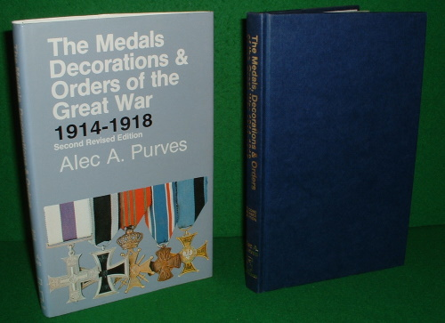Image for THE MEDALS DECORATIONS & ORDERS OF THE GREAT WAR 1914-1918 Second Revised Edition