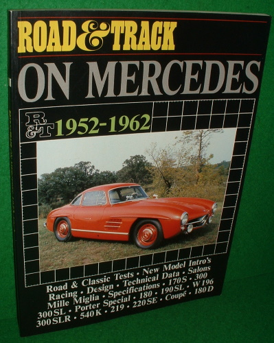 Image for ROAD & TRACK ON MERCEDES 1952-1962