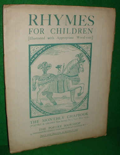 Image for RHYMES FOR CHILDREN [ILLUSTRATED WITH APPROPRIATE WOOD-CUTS]
