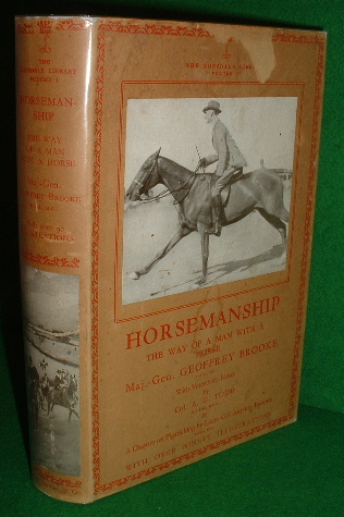 Image for THE LONSDALE LIBRARY THE WAY OF A MAN WITH A HORSE A Practical Book on Horsemanship