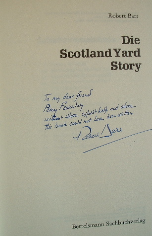 Image for DIE SCOTLAND YARD STORY  The Scotland Yard Story FACTUAL German Text