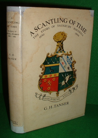 Image for A SCANTLING OF TIME The STORY of SALISBURY RHODESIA 1890 to 1900