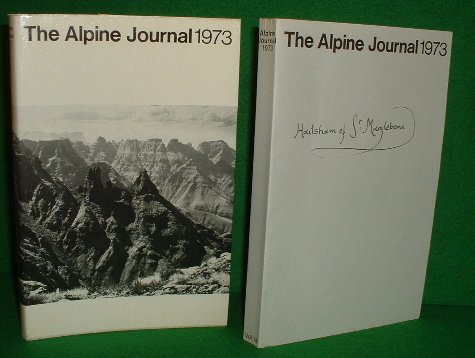 Image for THE ALPINE JOURNAL 1973 ,  A Record of Mountain Adventure and Scientific Observation