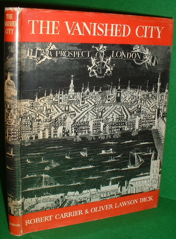 Image for THE VANISHED CITY  A STUDY OF LONDON