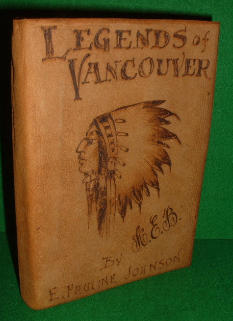 Image for LEGENDS OF VANCOUVER  illustrated edition
