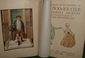 Image for THE POSTHUMOUS PAPERS OF THE PICKWICK CLUB  The Pickwick Papers