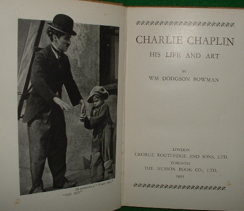 Image for CHARLIE CHAPLIN His Life and Art
