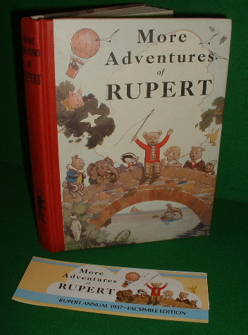 Image for MORE ADVENTURES OF RUPERT FACSIMILE 1937 Annual
