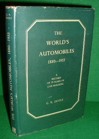 Image for THE WORLD'S AUTOMOBILES 1880-1955 , A Record of 75 Years of Car Building