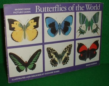 Image for BUTTERFLIES of the WORLD  BROOKE BOND PICTURE CARD ALBUM