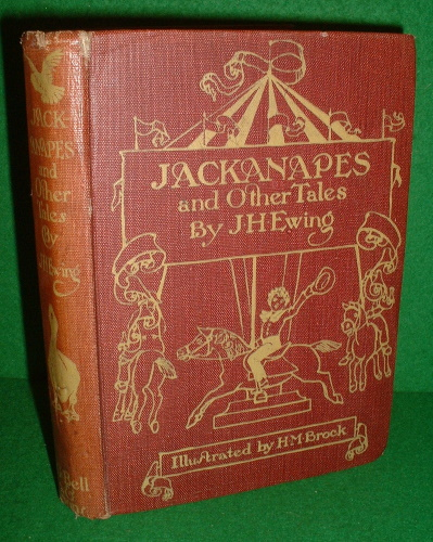 Image for JACKANAPES And other Tales , Illustrated by H M BROCK [ Daddy Darwin's Dovecot & The Story of a Short Life ]