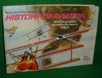 Image for HISTORY OF AVIATION , Brooke Bond Picture Cards