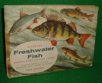 Image for ALBUM FOR FRESHWATER FISH , BROOKE BOND PICTURE CARDS ALBUM