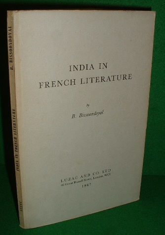 Image for INDIA in FRENCH LITERATURE