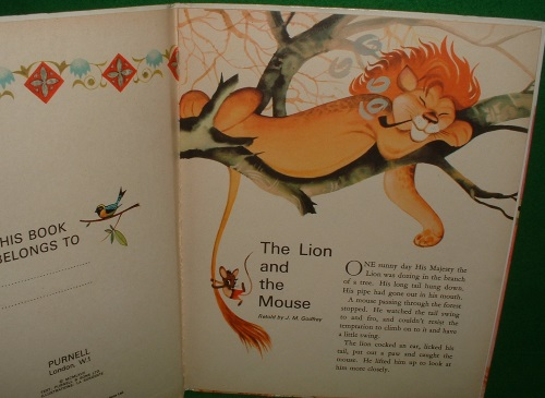 Image for THE LION AND THE MOUSE and Other Stories